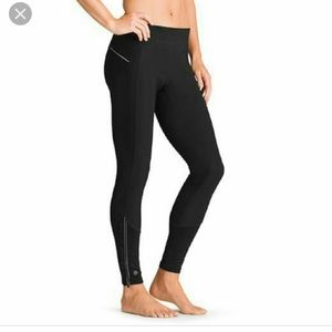 Athlete wind warrior 2 tights with ruffles